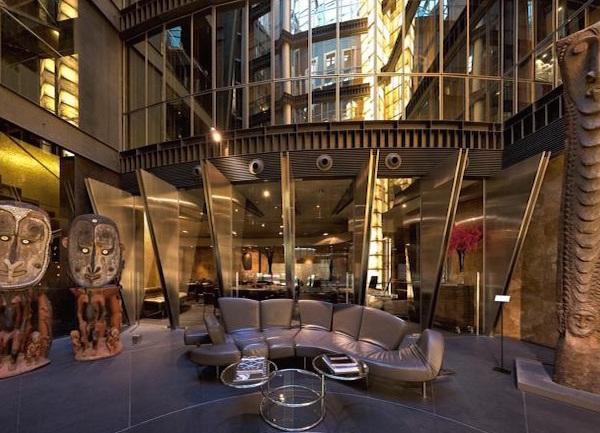 hightech designhotel in Madrid