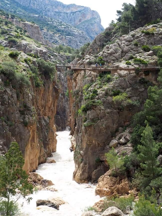 Caminito del Rey (Málaga, Andalusië)