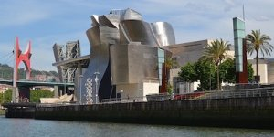 Güggenheim museum in Bilbao Baskenland