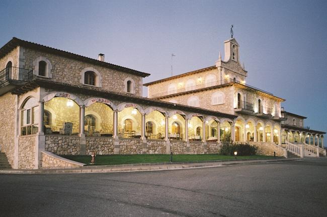 Bodega Arzuaga in wijngebied Ribera del Duero in Midden Spanje