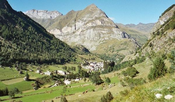 dorpje in de Spaanse Pyreneeën