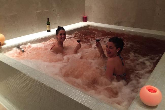 Ontspannende wijntherapie in de Spa van hotel en bodega Arzuaga in Ribera del Duero