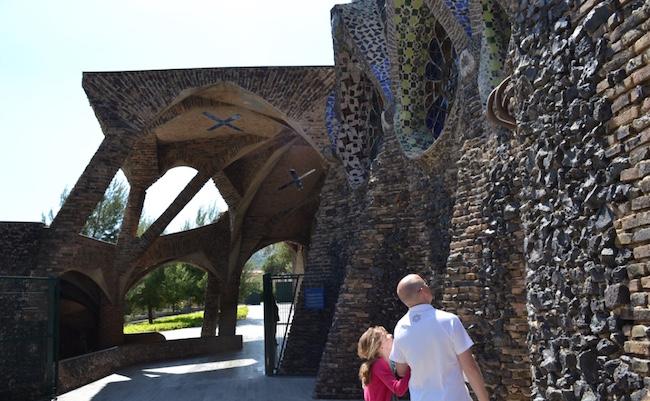 Gaudi's crypte in Colonia Güell