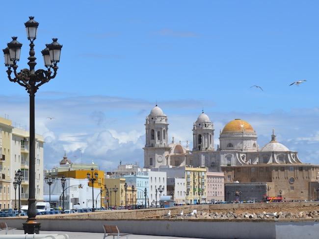 Santa Cruz kathedraal in Cádiz (Andalusië)