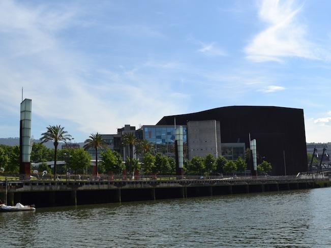 De Paseo de la Memoria in Bilbao (Baskenland)