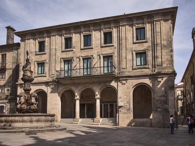 Het Pelgrimsmuseum in Santiago de Compostela (Noord Spanje)