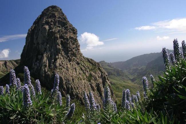 Pico de Garajonay op het Canarische eiland La Gomera