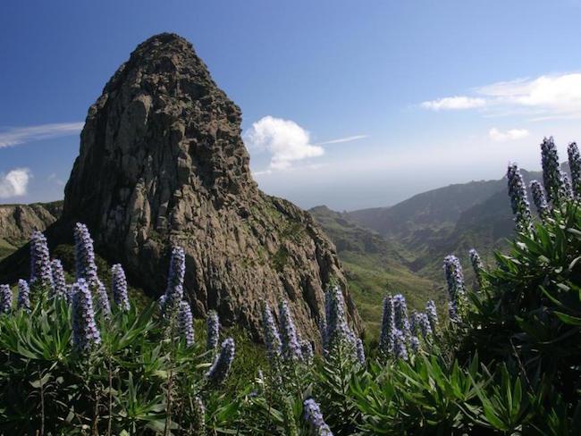 Pico de Garajonay op Canarische Eiland La Gomera