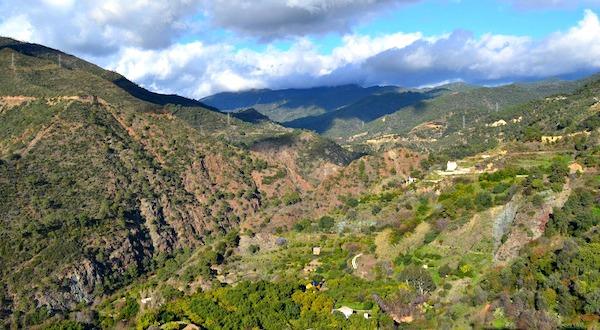 De bergen van Sierra de las Nieves