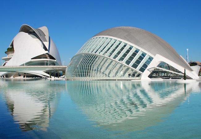 Stad der Wetenschappen en Kunsten in Valencia