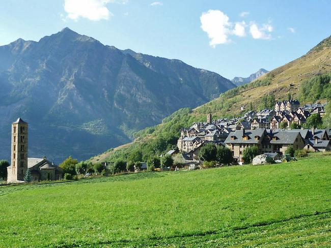 het traditionele dorpje Taull in de Boí vallei in de Spaanse Pyreneeën (Foto: Alejandro Blanco)