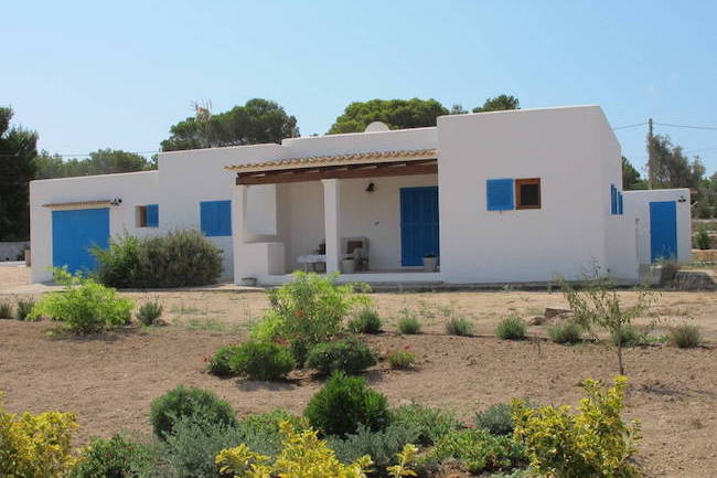 traditioneel huis op Formentera