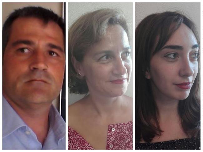 Jose, Marta en Lidia van Spaanse reisorganisatie Travel4Learning