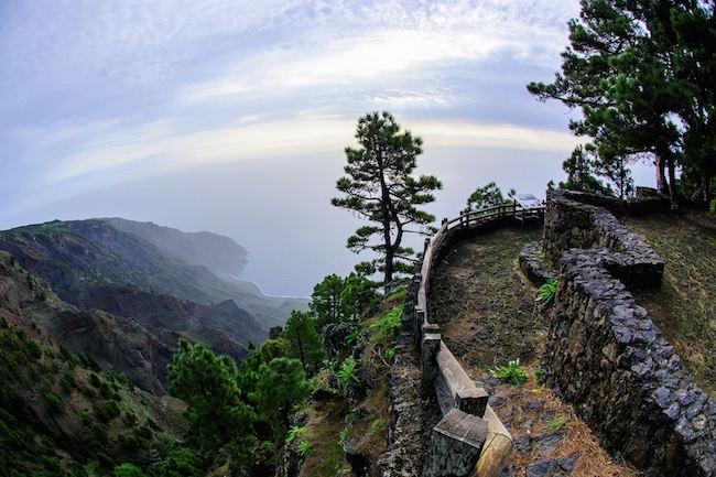 Uitzicht vanaf Mirador de las Playas op het Canarische eiland El Hierro