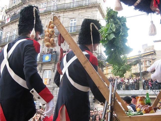 De Herovering van Vigo op 28 maart