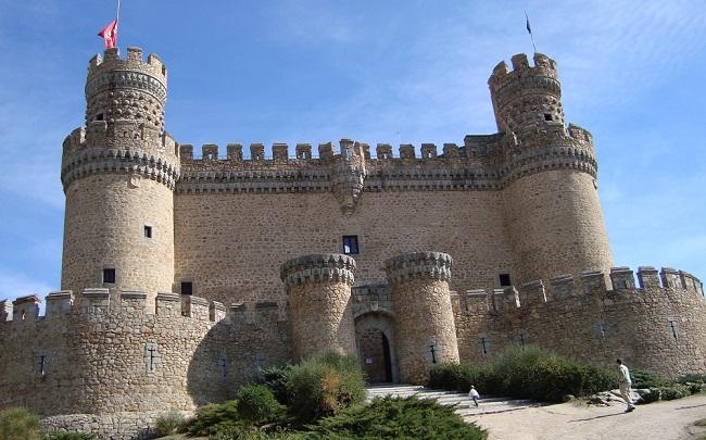 best bewaarde kasteel in regio madrid