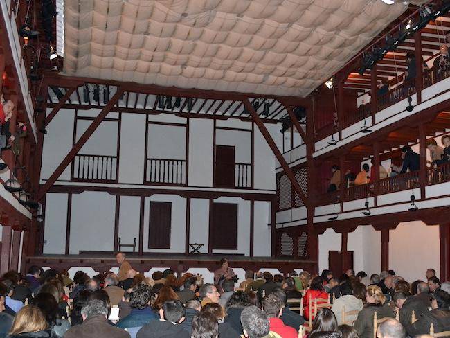 Theatervoorstelling in Almagro, in het oudste theater van Spanje!