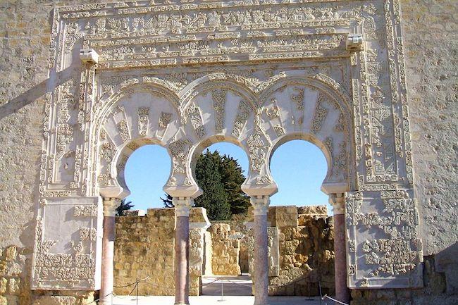 Paleisstad Medina Azahara buiten Córdoba
