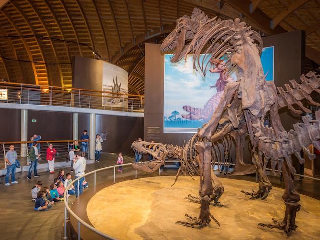 Dinosaurusmuseum in Colunga (Asturië, Noord Spanje)