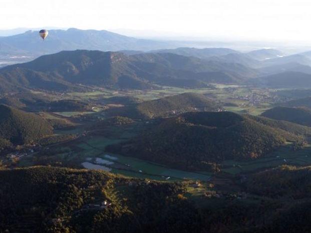 Vulkaangebied La Garrotxa in Catalonië