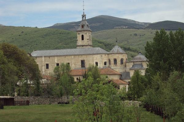 El Paular klooster in Rascafría Madrid