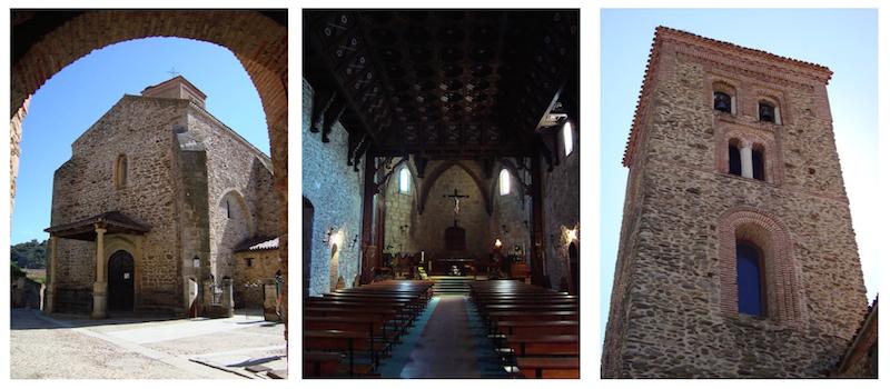 De Santa Maria del Castillo kerk in Buitrago del Lozoya