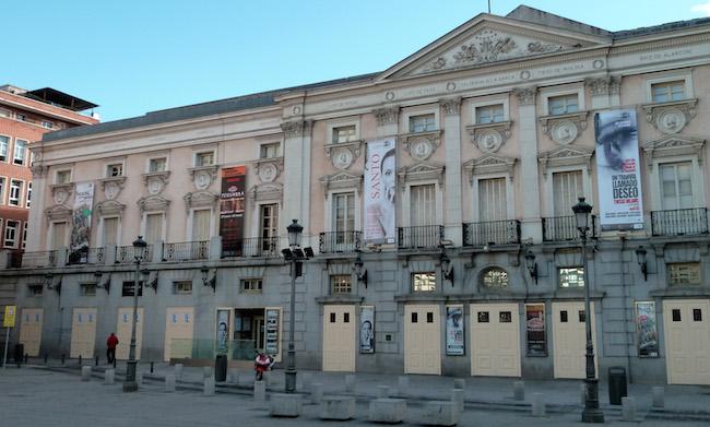 Waar eens het Teatro Principe stond, is tegenwoordig het Teatro Español in Madrid gevestigd...