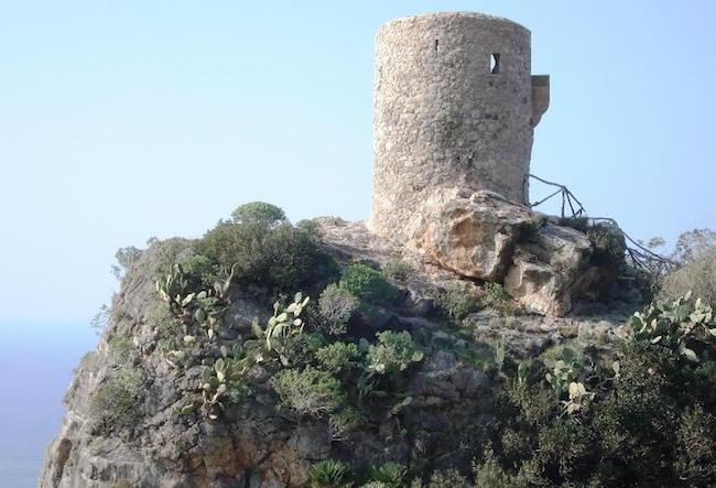Verger toren op Mallorca