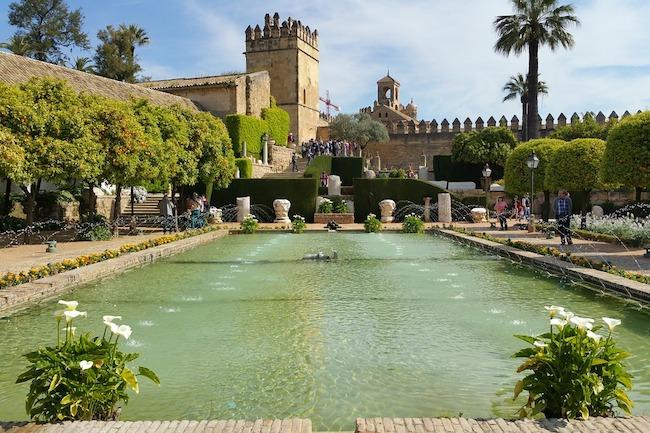 Het Alcazar in Córdoba met zijn prachtige tuinen