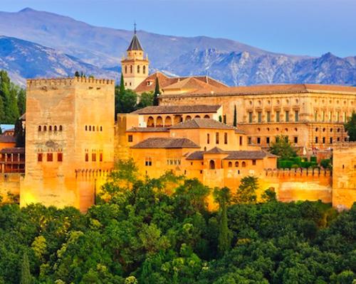 moors Alhambra in Granada
