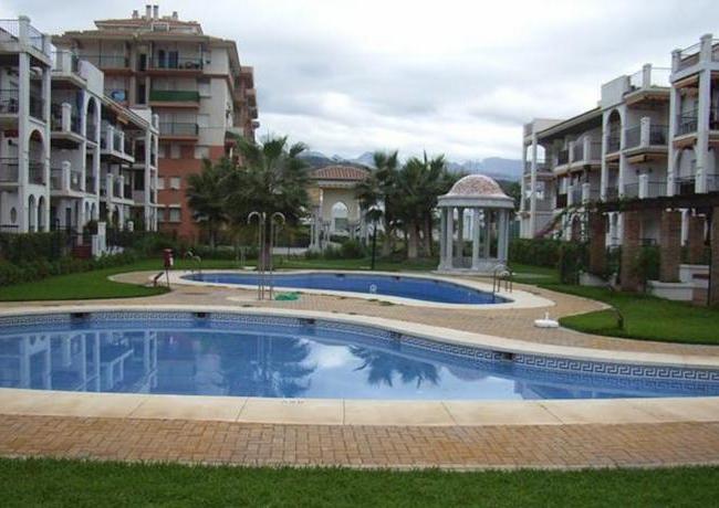 appartementencomplex Laguna Beach aan strand van Torrox (provincie Malaga)