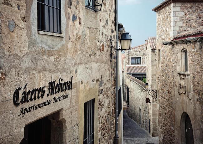 Appartement in een eeuwenoud stadje in Spanje