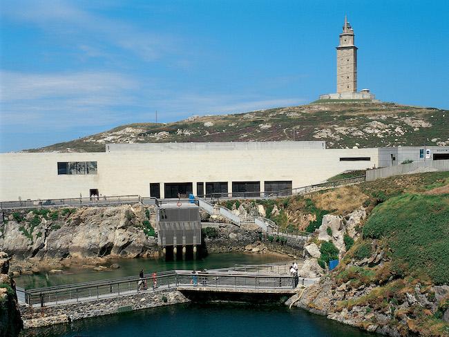 Aquarium in Finisterre (Galicië, Noord Spanje)
