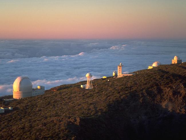 Sterren kijken vanuit het astronomisch observatorium op La Palma