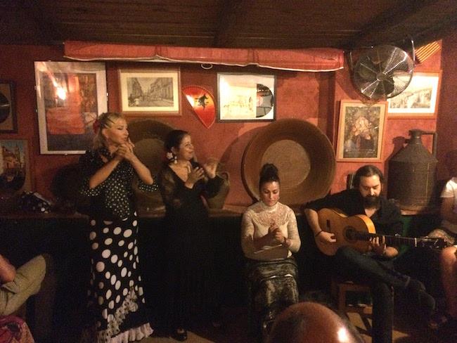 Een intieme en pure Flamenco voorstelling in Sevilla van Flamenco Esencia