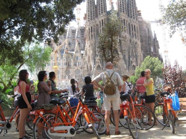 originele fietstocht door Barcelona met Baja Bikes