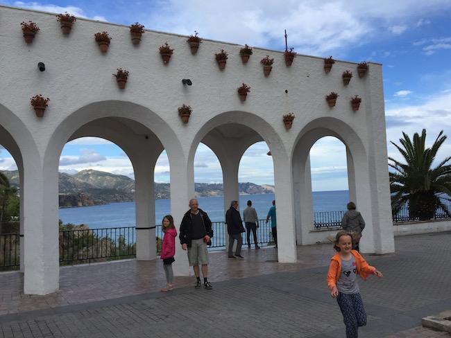 Het Balkon van Europa in Nerja (Andalusië)
