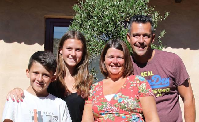 Jeffry, Lindsy en hun kinderen