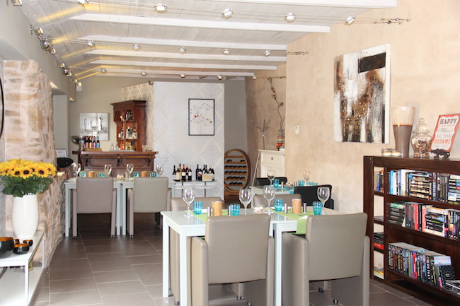 Het restaurantje van B&B a-ti in Midden Spanje