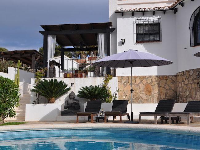 Villa met arabisch tintje in Javea