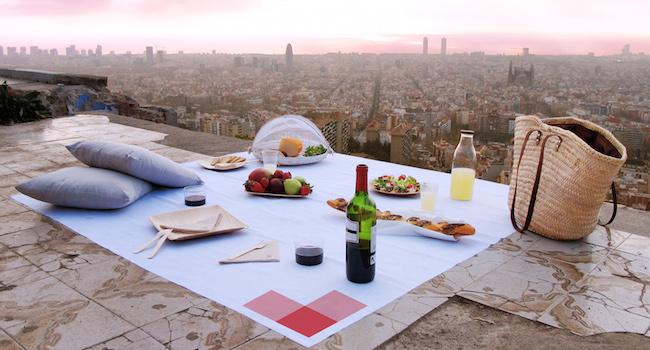 Een bijzondere picknick in Barcelona vanaf de Bunkers del Carmel
