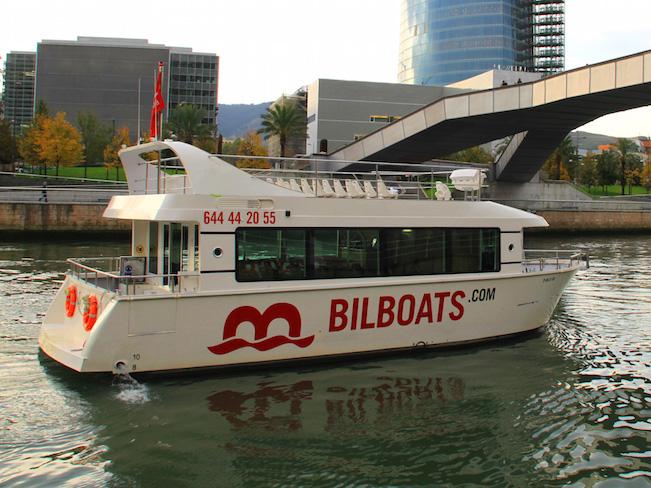 Boottocht door Bilbao met Bilboats