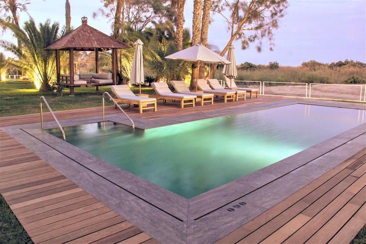 Zwembad van Boutique hotel Botanique aan strand van Mojácar
