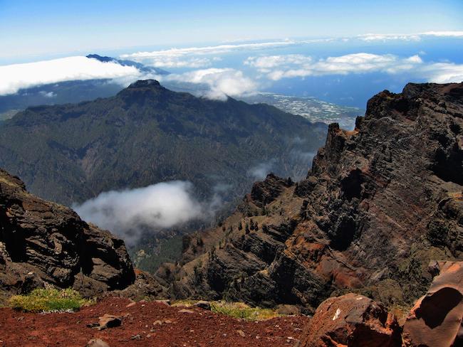 nationaal park caldera de taburiente op Canarische eiland La Palma