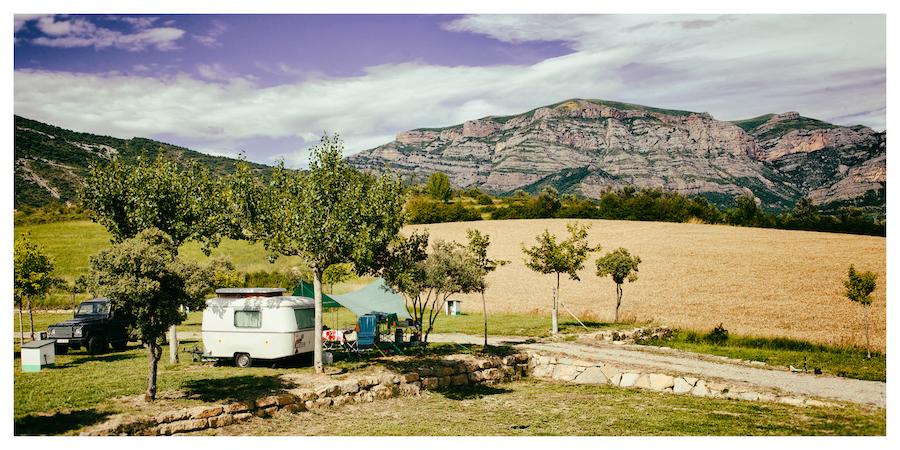 Camping Bungalowpark Isábena aan voet van Spaanse Pyreneeën
