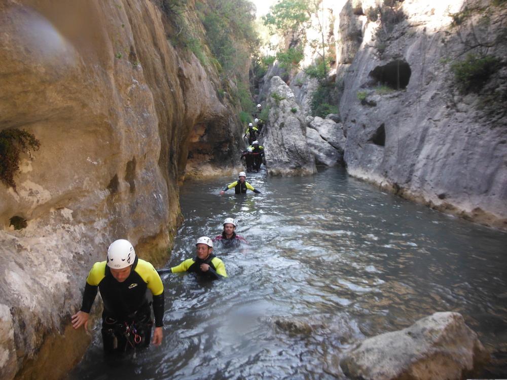 Canyoning in de Pyreneeën van Aragón