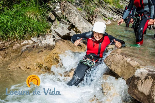Canyoning in Spaanse Pyreneeën met Locura de Vida