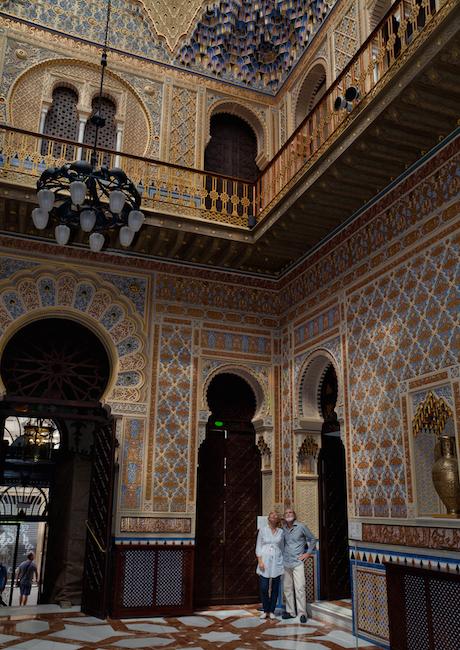 Arabische invloeden in het Casino van Murcia (Zuid Spanje)