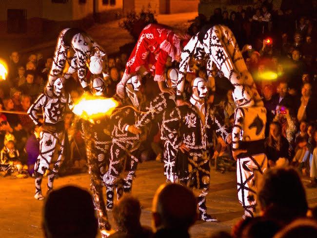 De bijzondere Contradanza dans in Cetina in de provincie Zaragoza (Aragon)