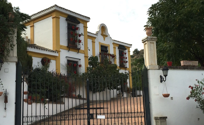 Cortijo La Mimbre Rural bij Priego de Cordoba (Andalusië)